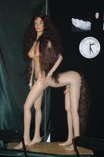 Hot female spy naked