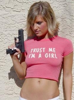 trust me, I'm a girl