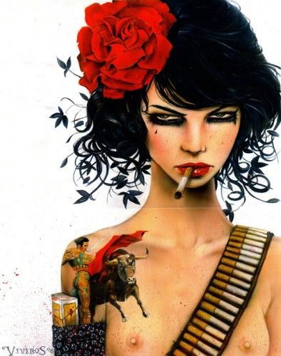 Mess With The Bull by Brian M Viveros