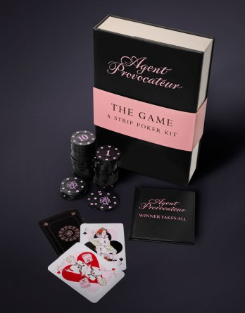 Agent Provocateur's strip poker