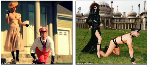 Rihanna vs. LaChapelle