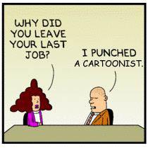 Scott Adams – Dilbert – Just Can't Stop Digging