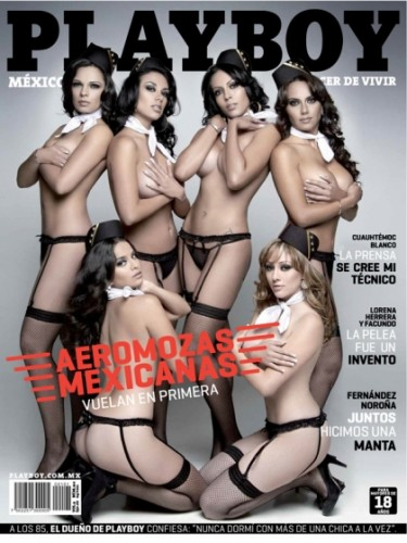 Playboy Aero Mexico Flight Attendants