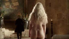 Emilia Clarke from behind, Game of Thrones