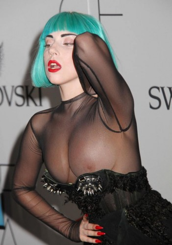 Lady Gaga - pretty nipples