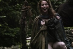 Esmé Bianco departs on a turnip wagon, Game of Thrones
