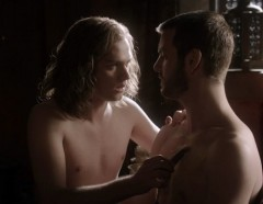 Malfeasant, sexy characters Loras Tyrell and Renly Baratheon
