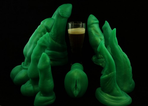 St. Patrick's Day Monster Cock