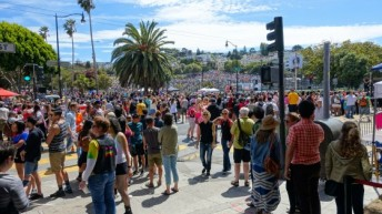 What happened at the Dyke March today