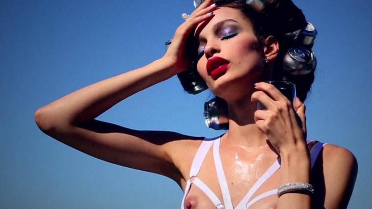Darling Diamante: Luma Grothe by Ellen von Unwerth for Vogue Brasil