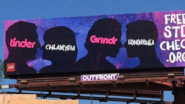 news morning billboards linking tinder stds latest battleground online dating wars