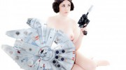 Left's 'The Force Awakens' nude cover by Paul Oberle