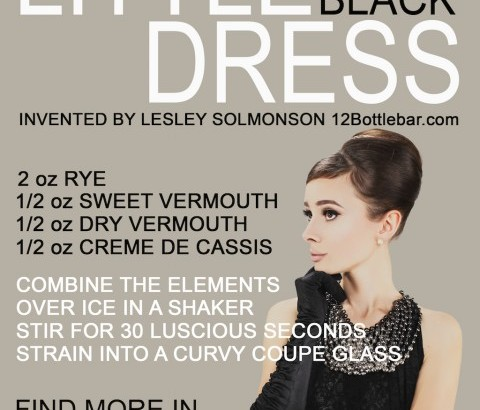 Announcing the winner: The perfect Little Black Dress cocktail!