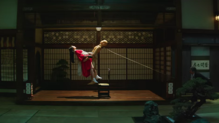 Trailer-teaser for Mademoiselle, aka The Handmaiden, by Park Chan-wook