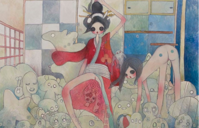 Beyond containment: The erotic paintings of Aya Takano